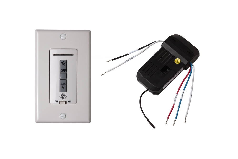 Hardwired wall remote control/receiver. Fan speed and ... on Non Wired Wall Sconces id=50095
