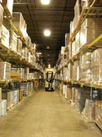 Warehouse application for line-voltage occupancy sensors