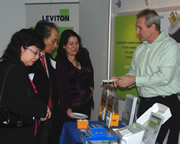 Leviton Rolls Out Red Carpet for Distributors Visiting New Green World Headquarters