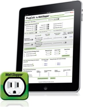 WattStopper's Free PlugCalc Identifies Energy Savings From Automatically Controlling Plug Loads