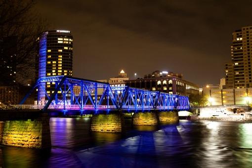 Grand Rapids and Indiana Railroad Pedestrian Bridge