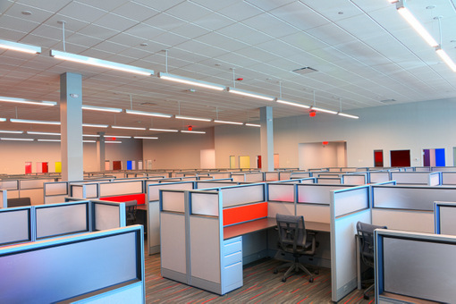 Cree and Cisco prove lighting enables IoT  a look at the first digital ceiling projectmindSHIFT Cubicles