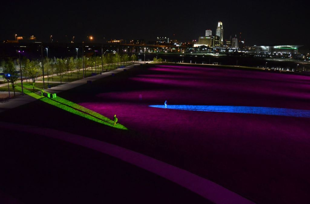 Rays Public Space Art Installation Wins 2016 IES Lighting Control Innovation Award