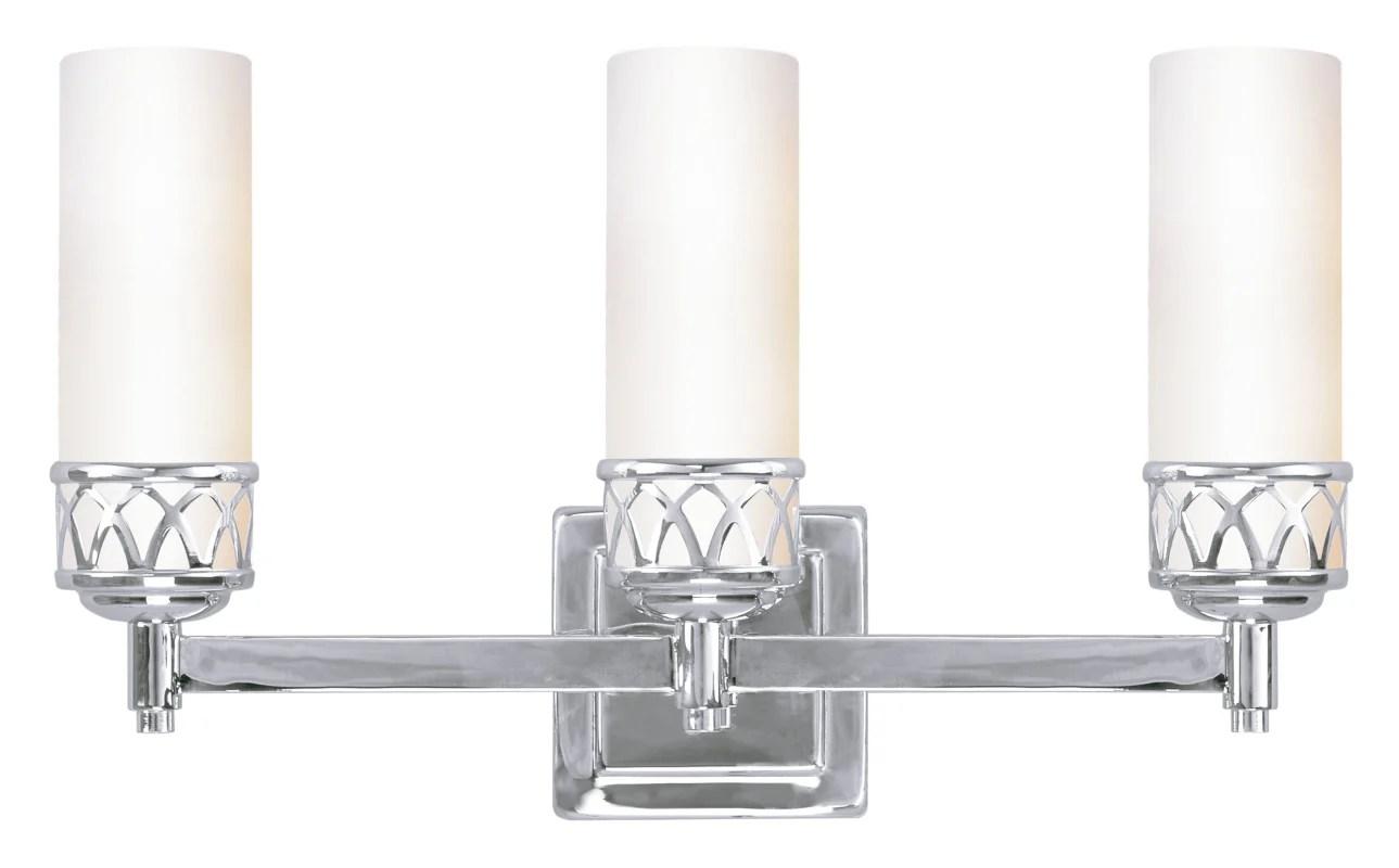 Livex Lighting 4723-05 Chrome Westfield 3 Light ADA