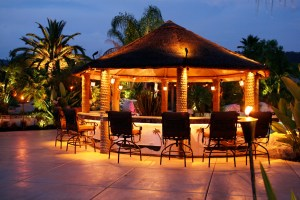 lighting entertainment and patio