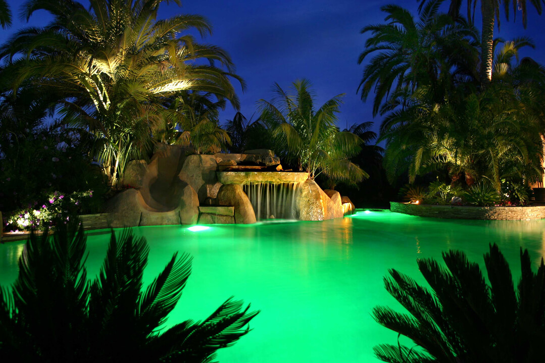 Pool Lighting Green LED