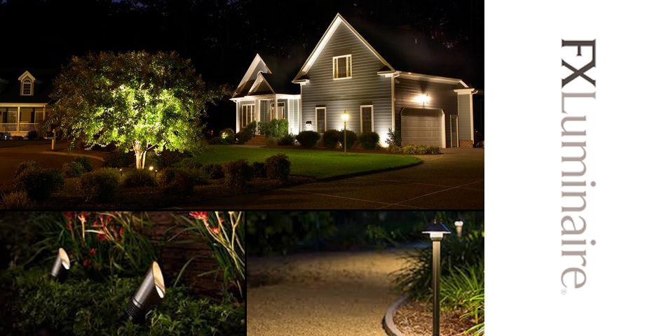 fx luminaire landscape lighting products