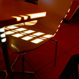 Chair light pattern