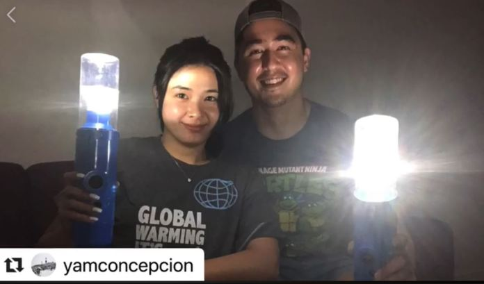 Yam Concepcion and Miguel Cuunjieng