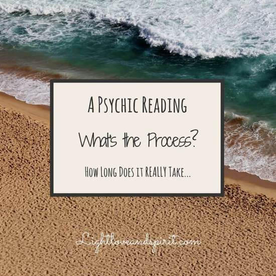 A Psychic Reading, What's the Process? How Long Does it REALLY Take?