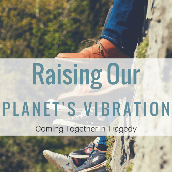 In Tragedy We Must Come Together. Healing The Planet.