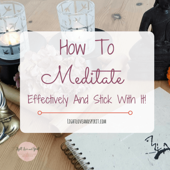 How To Start Meditating Regularly And Effectively
