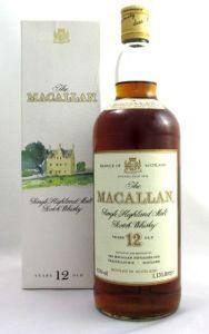 Macallan old bottle
