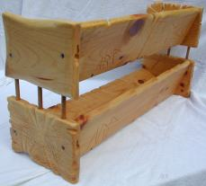 ARP_sculpture01-0.0.3_Dual Sculpted Pine CD Shelves -- Whole, back left, signature focus