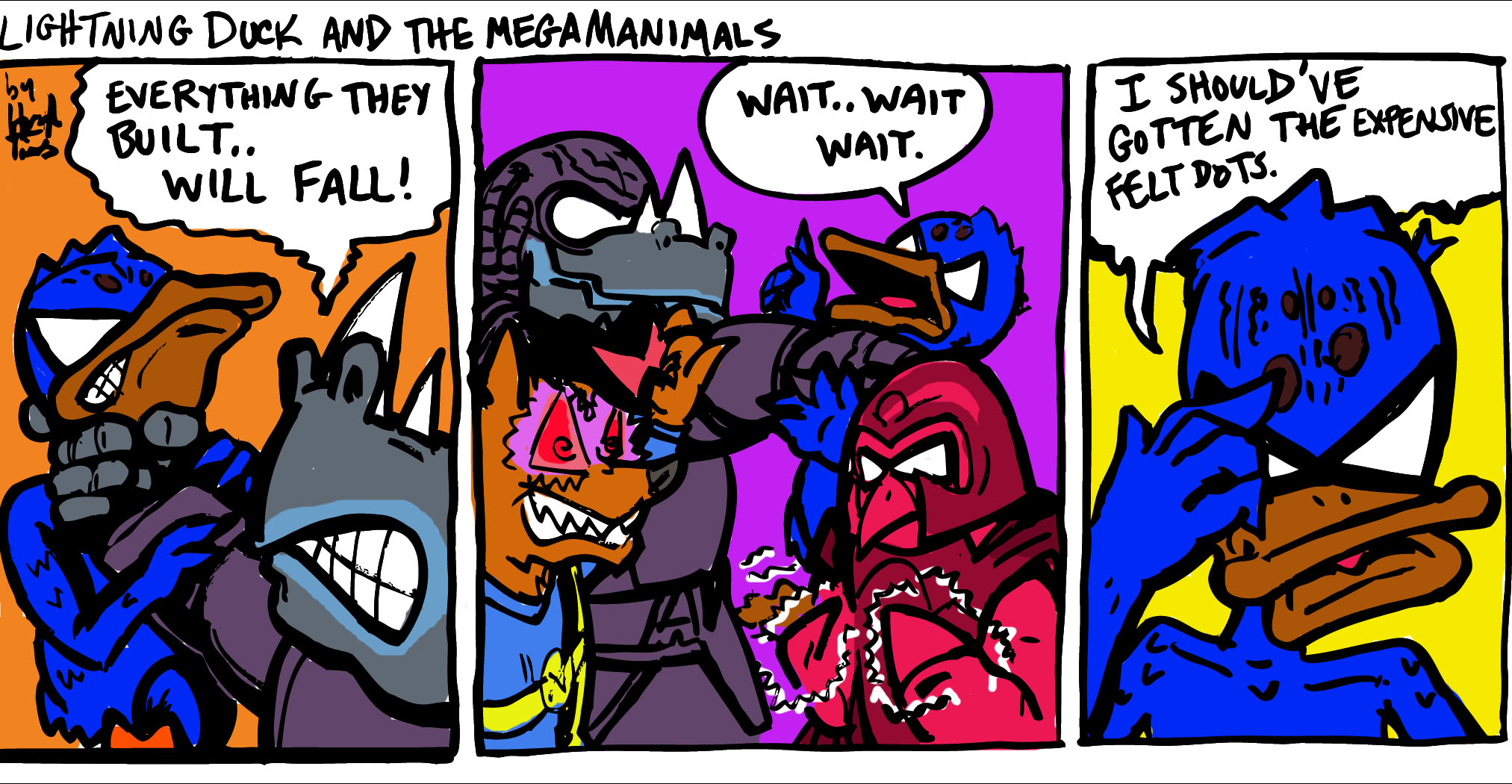Lightning Duck and the Megamanimals 3