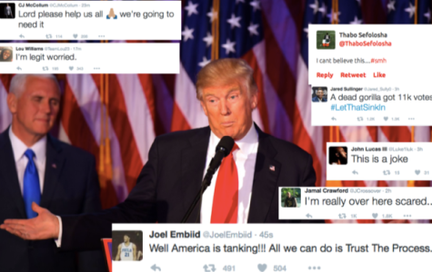 Professional athletes react to election results