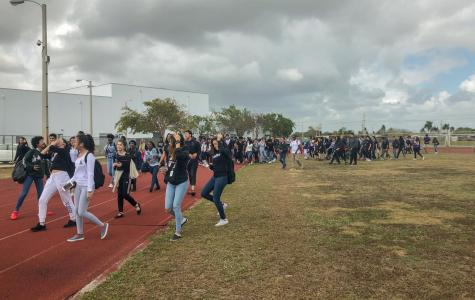 Students walk-out, call for gun control