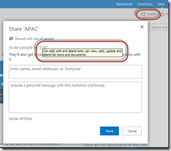 SharePoint Permissions Tips - Sharing