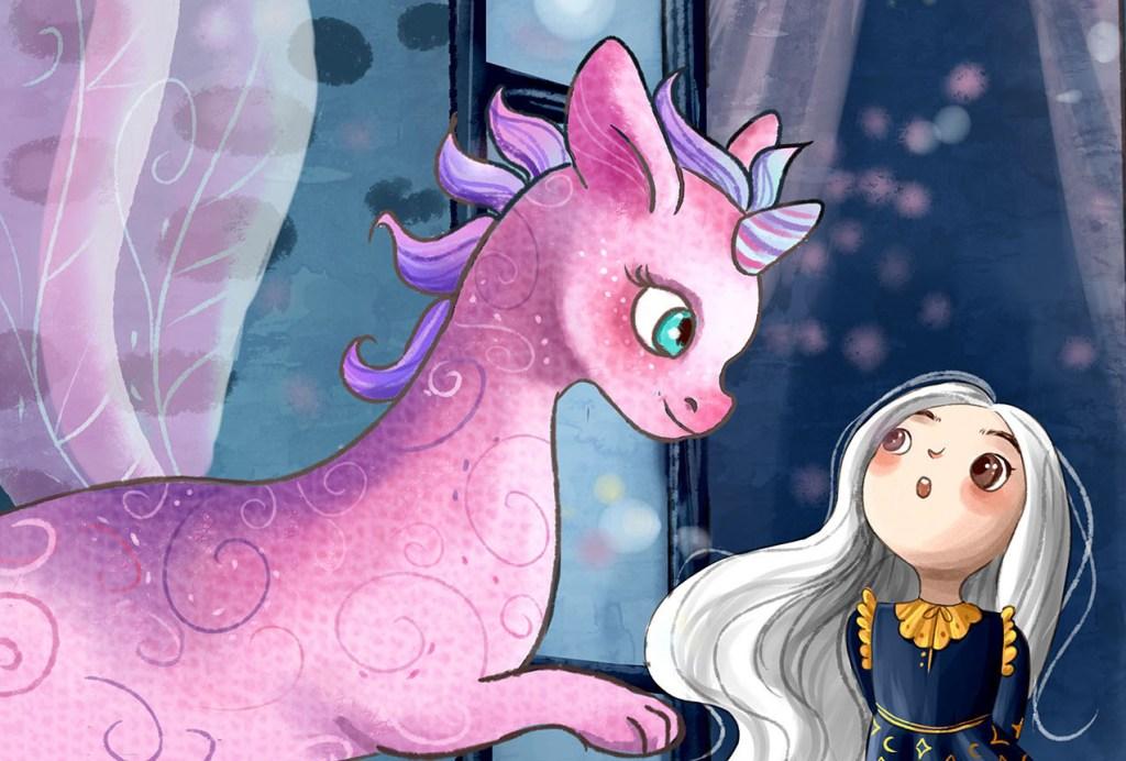 Luma and Me digital motion comic