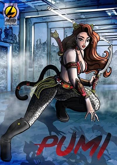 Pumi Comic Book Cover 1