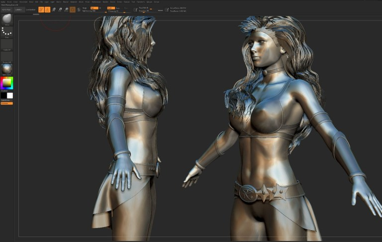 Pumi VR Character Design WIP (17)