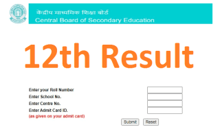 12th Class Result 2021