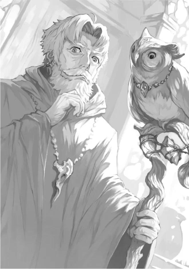 Aurnier with Magi Owl