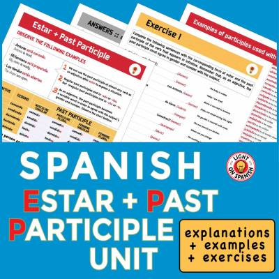 Spanish Estar + Past Participle Unit