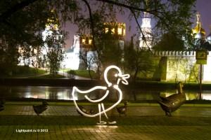 Lightpaint (фризлайт) - duck