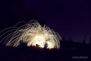 Lightpaint - Supernova rises (Рассвет свехновой)