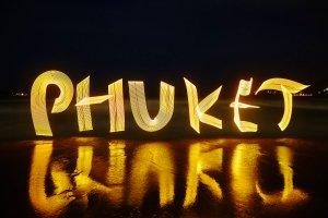 Phuket Lightpainting
