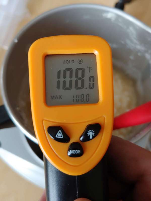 Soy wax melting temperature