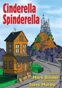 Cinderella Spinderella eBook Cover