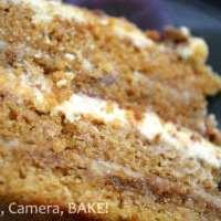 Salted Caramel Layer Cake - Cake Week