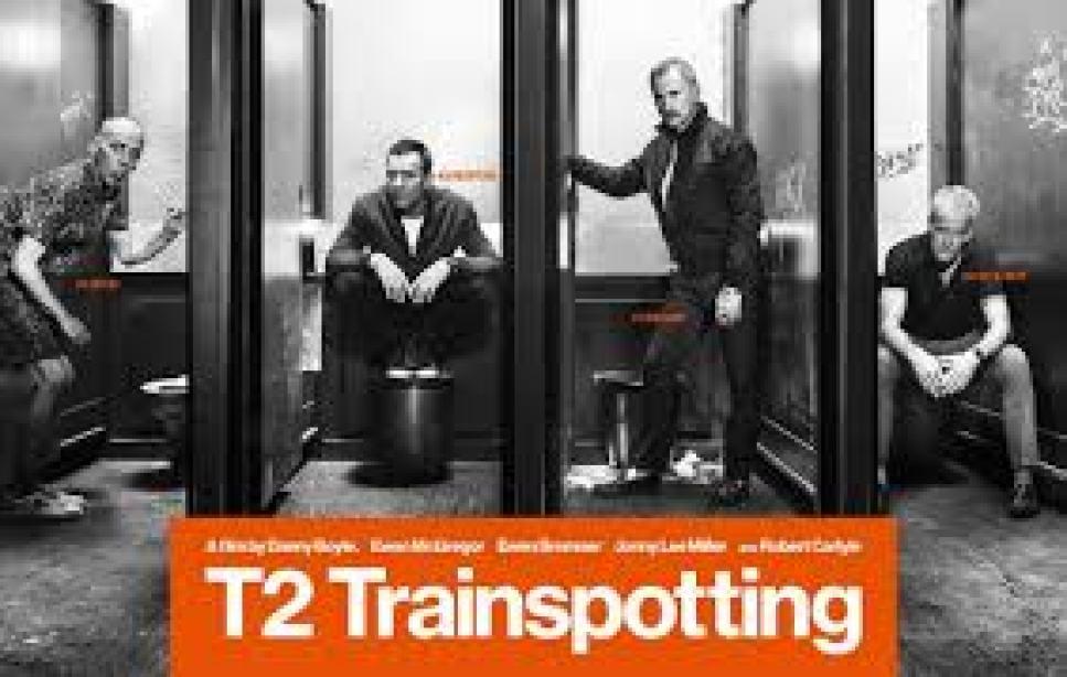 Trainspotting 2 Poster. Film talk on Lights, Camera, BAKE!
