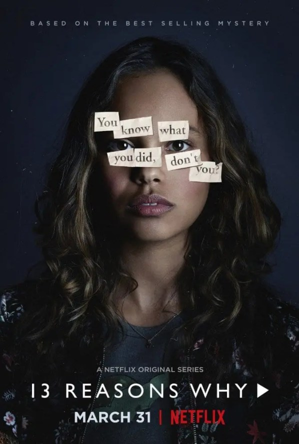 13 Reasons Why Poster. Film talk, series review, and discussion on the series 13 Reasons Why. #13reasonswhy #moviereview