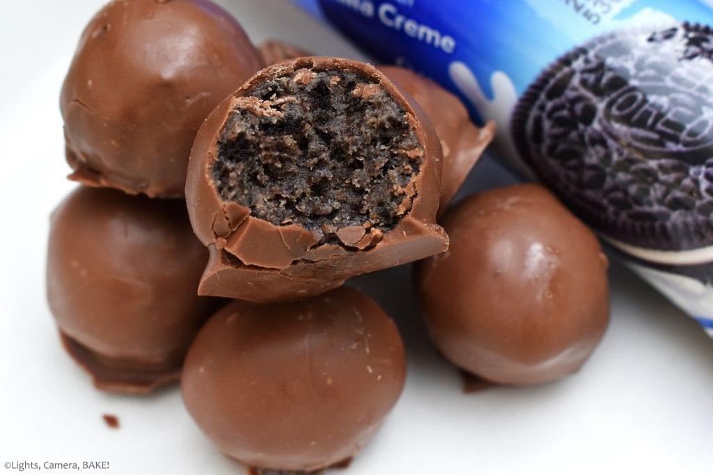 Caramel Oreo Truffles