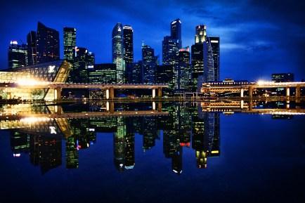 Blue Hour, Singapore