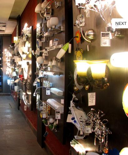 Fancy Light Showroom