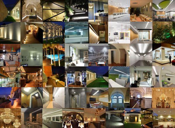 Lista de projetos elaborados entre 2015 e 2018