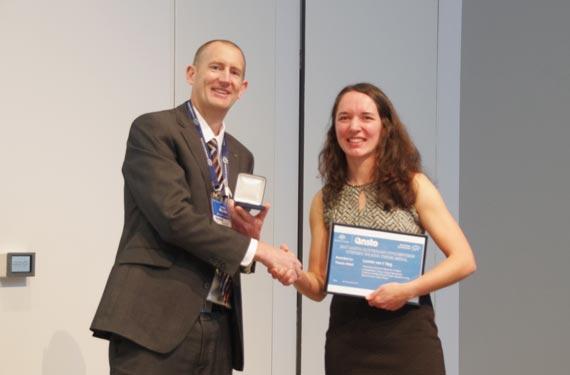 2017 ANSTO, Australian Synchrotron Stephen Wilkins Medal awarded