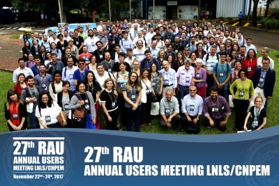 LNLS' Users get together at the 27th RAU
