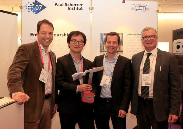 PSI spin-off GratXray wins Swiss Technology Award 2017