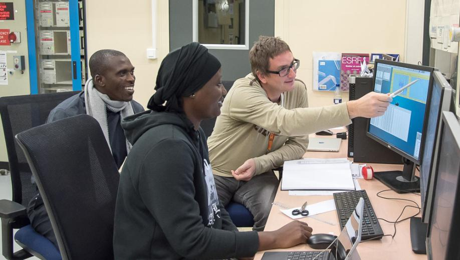 ESRF trains synchrotron scientists from Africa, the Americas and the Middle East