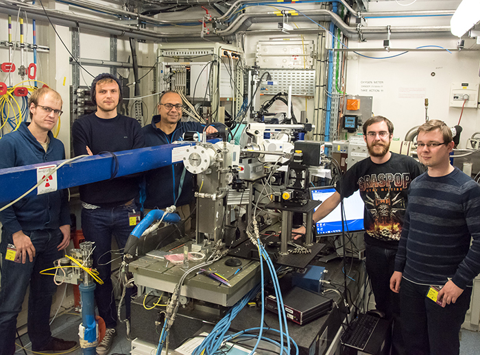 From Antarctica to the beamline, #weekendusers