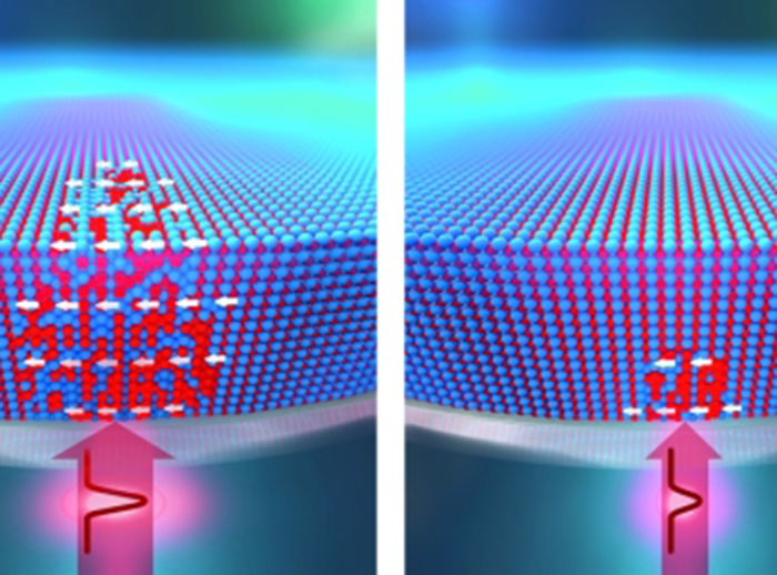 Writing and deleting magnets with lasers