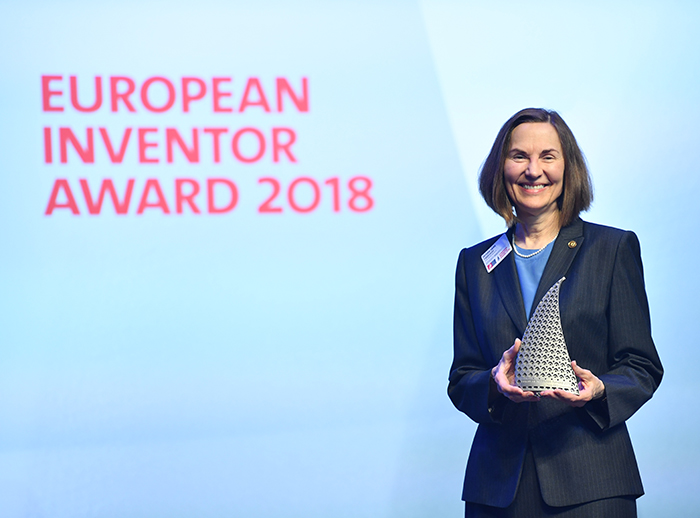 Takeuchi Receives European Inventor Award 2018