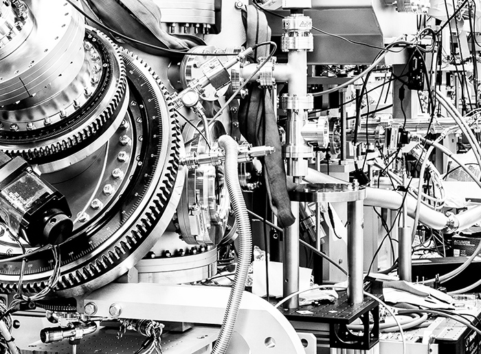 Synchrotrons in Black and White