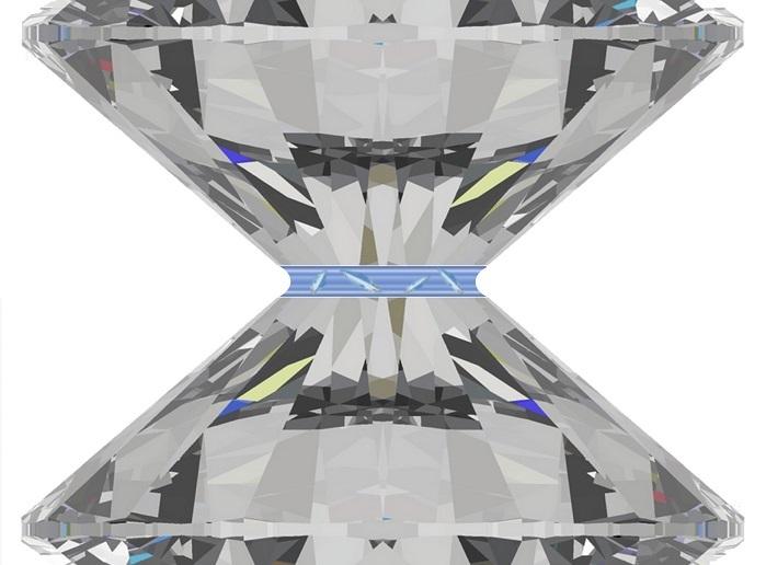 Nanometre gaps can crystallise liquids