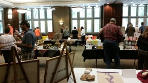 The 2015 Showcase with a variety of tables